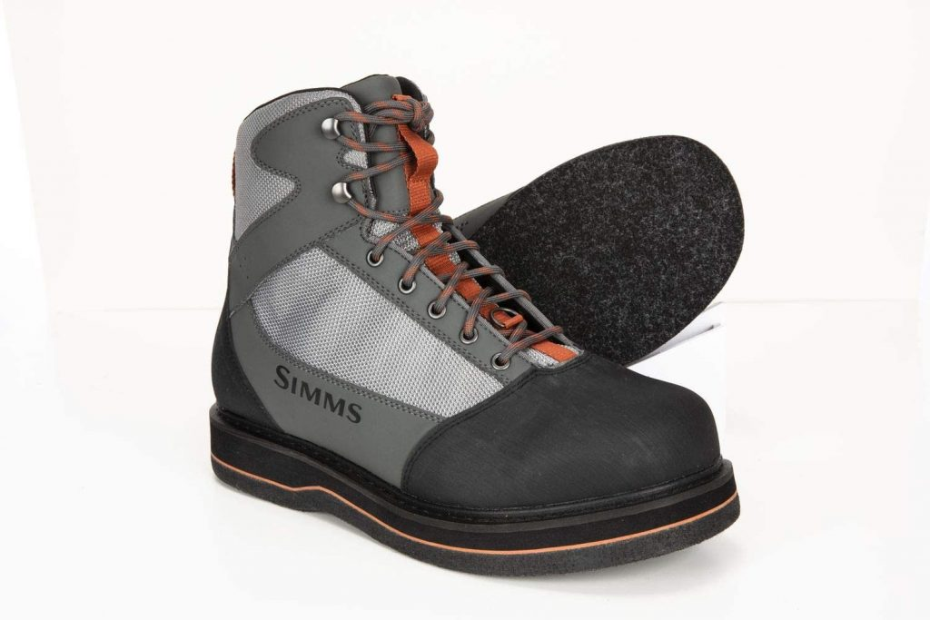 Simms Felt Sole boots- Best hiking wading boots