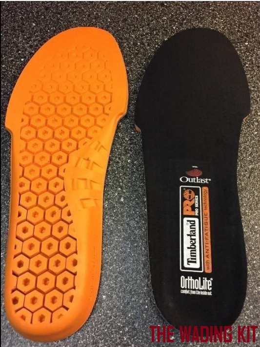 Anti-Fatigue Technology Replacement Insole for wading and fly fishing