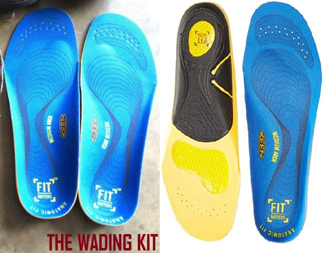 Utility Men's K-30 Gel Insole for wading and fly fishing