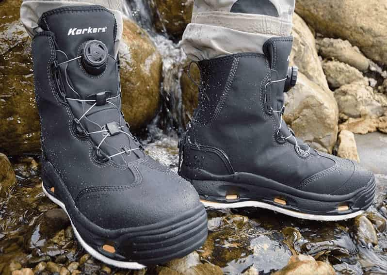 Korkers Devil's Canyon fly fishing boots Wading Boots review